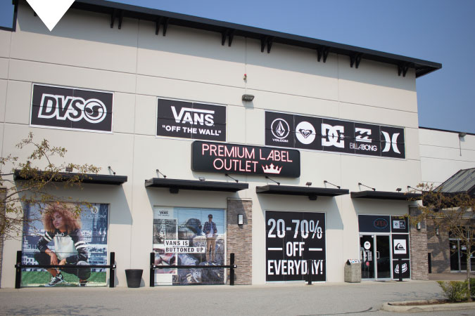Premium Label Outlet Langley