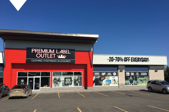 Premium Label Outlet Saskatoon
