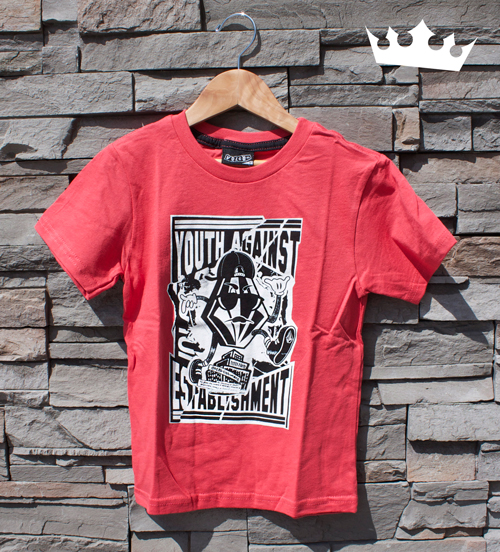 Red-Graphic-Tee