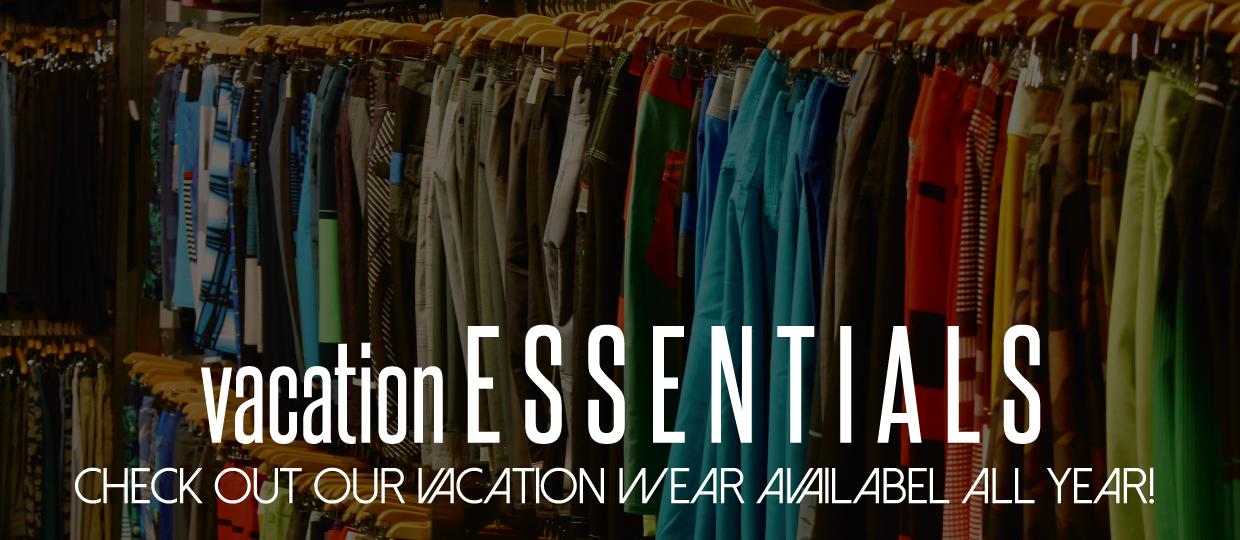 Premium Label Outlet has summer & vacation wear available all year!