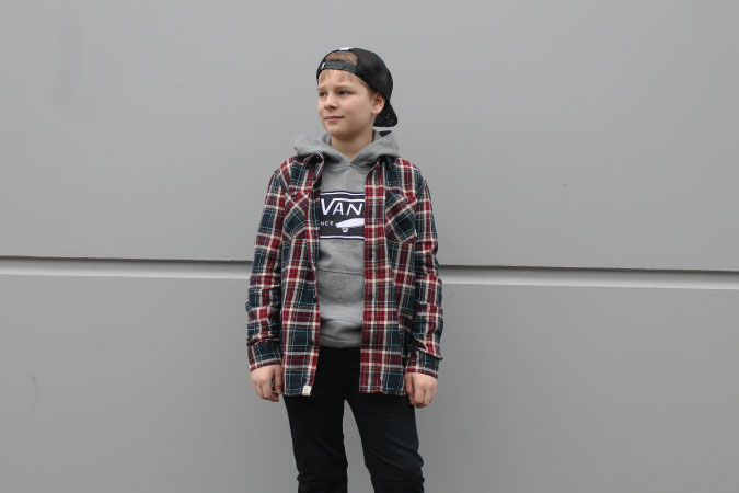 Boy's Vans Premium Label Outlet Kelowna