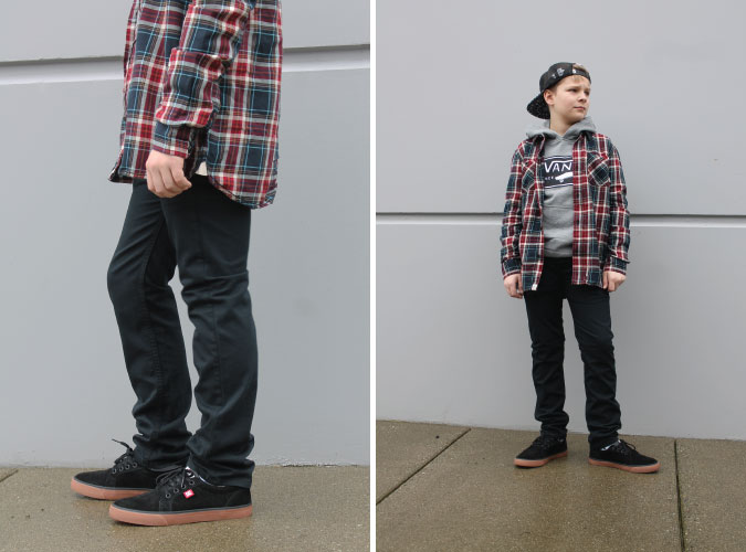 Boy's Vans Premium Label Outlet Edmonton