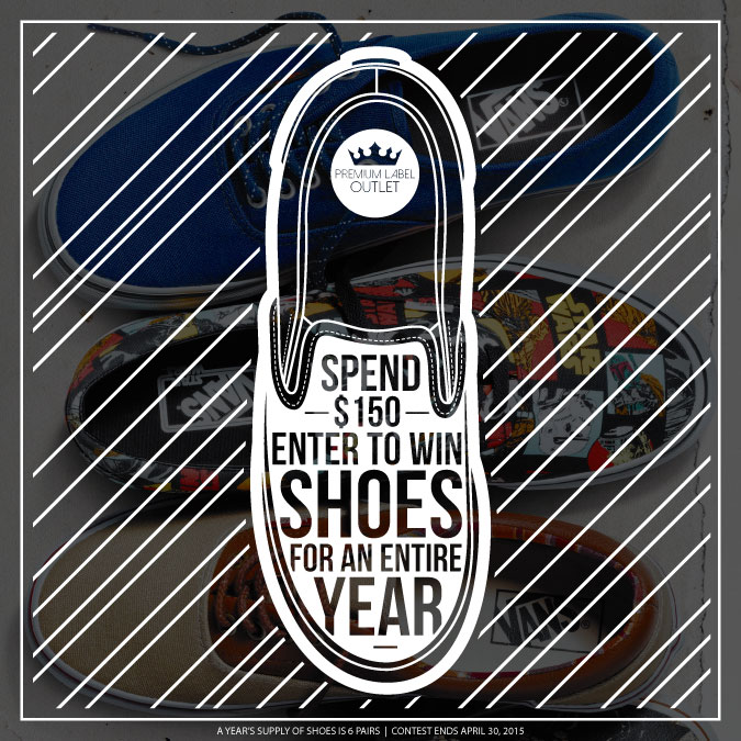 Enter To Win Shoes for a Year!