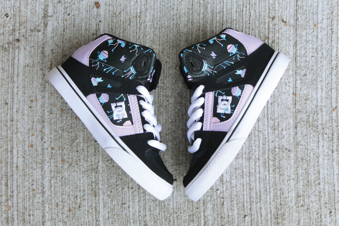 Girl's DC High Tops