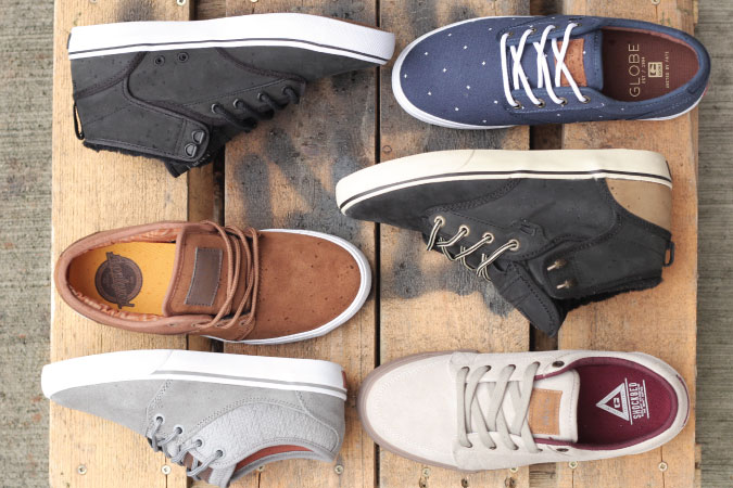 Men's Globe Shoes at 30-70% off everyday!