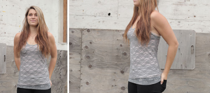 Orb Lace Tank Top