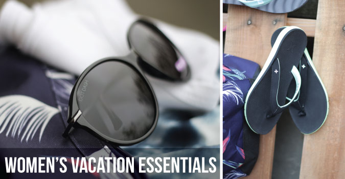 Women's Vacation Essentials