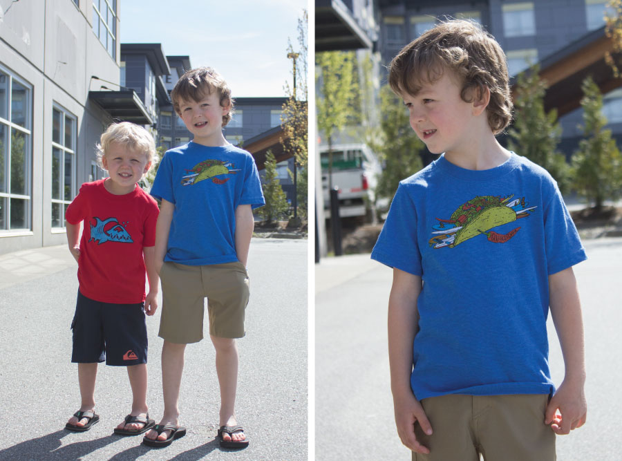 Boy's Quiksilver Feature Friday