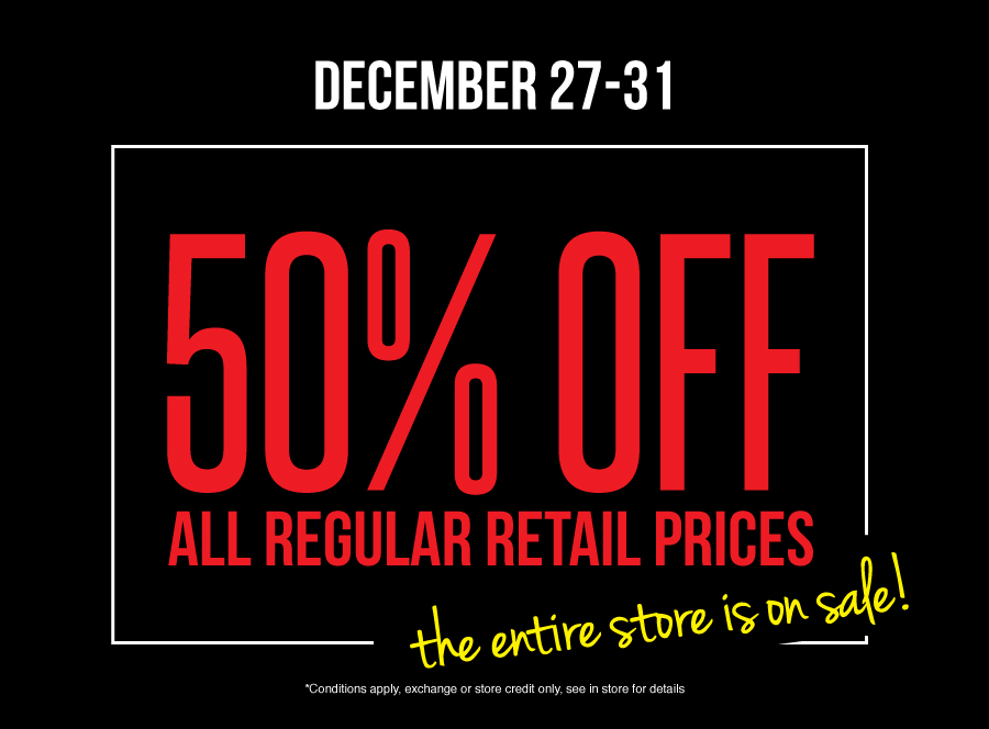 Premium Label Outlet Boxing Week Sale