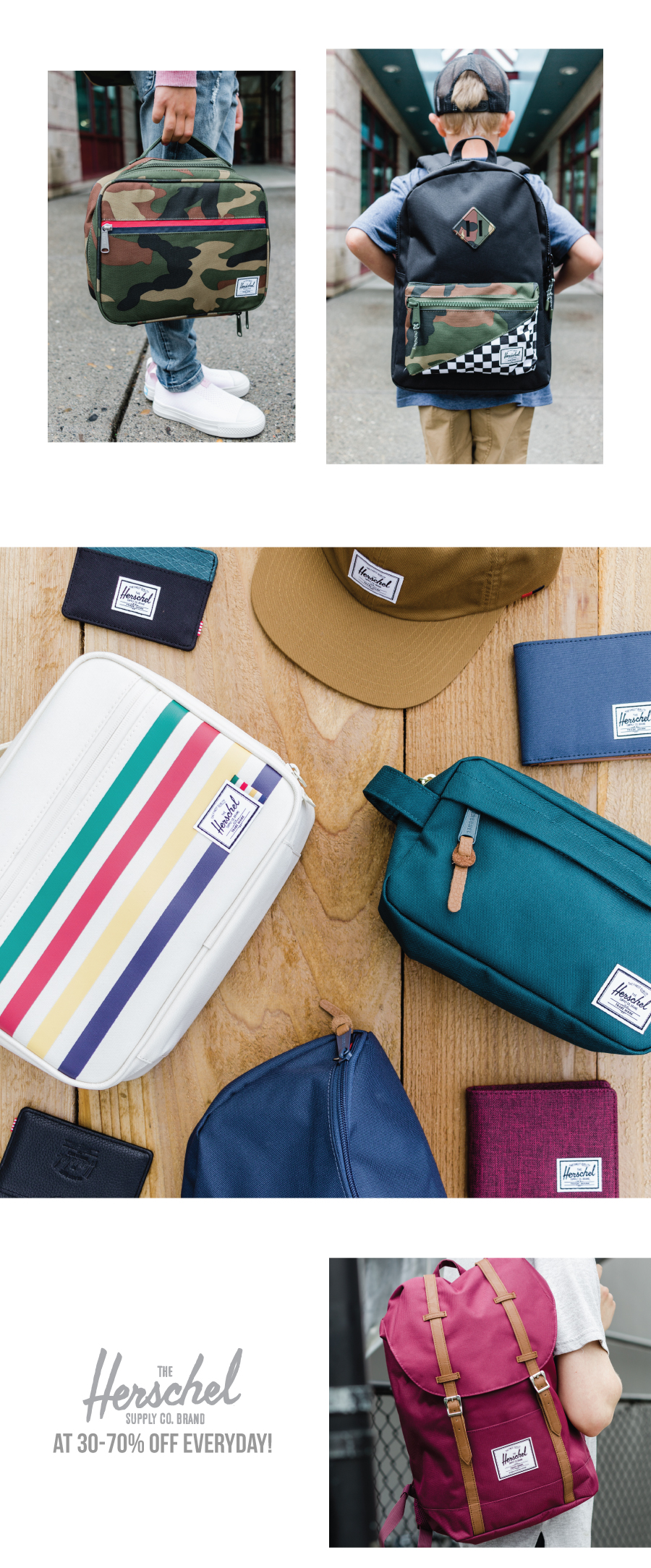 Herschel Supply Co. is now available at Premium Label Outlet!