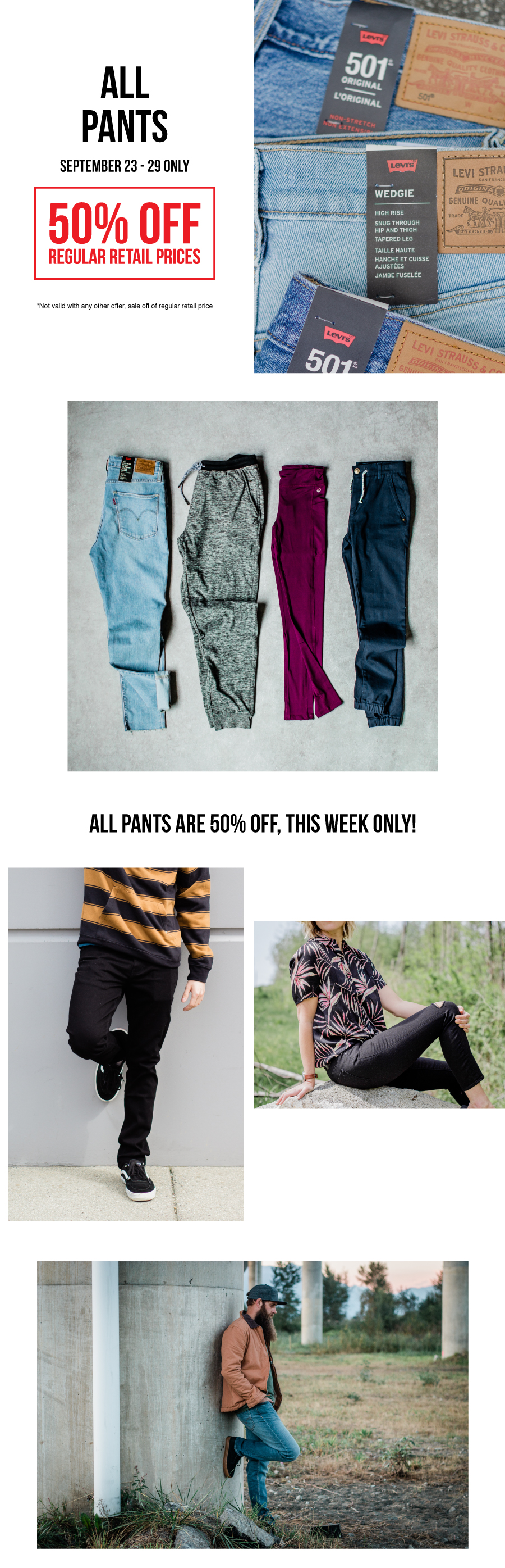 Deal of the week, september 23 - 29 at premium label outlet