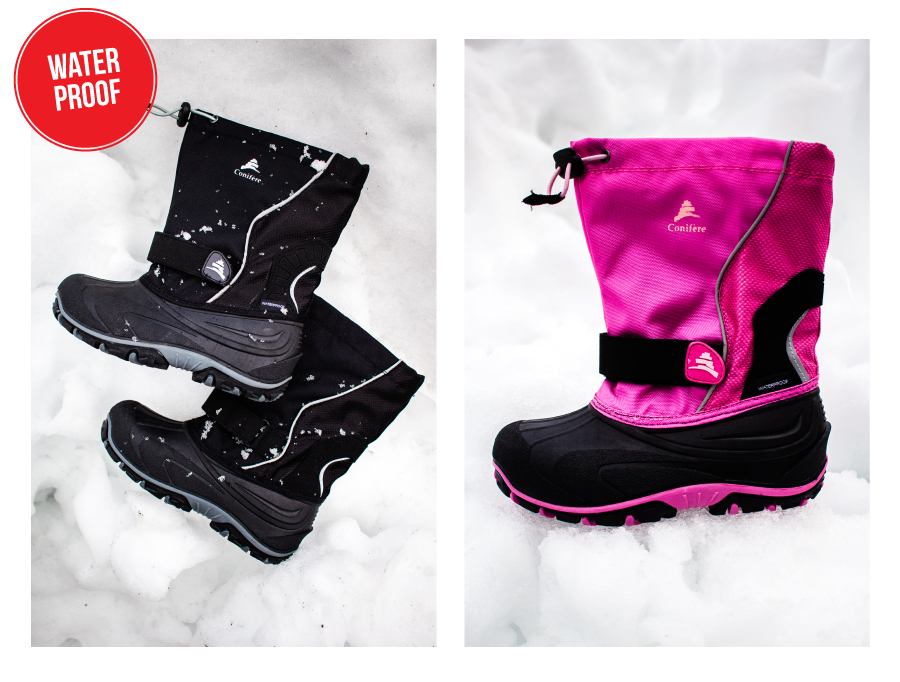 70% off kid's Conifere winter boots as the deal of the week!