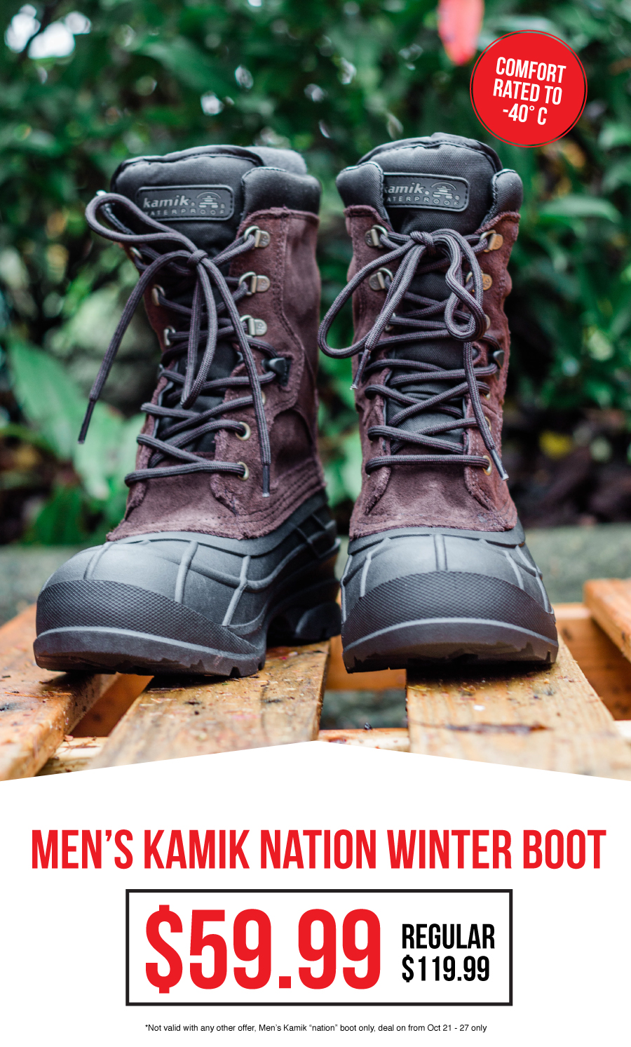 Kamik Boots for $59.99