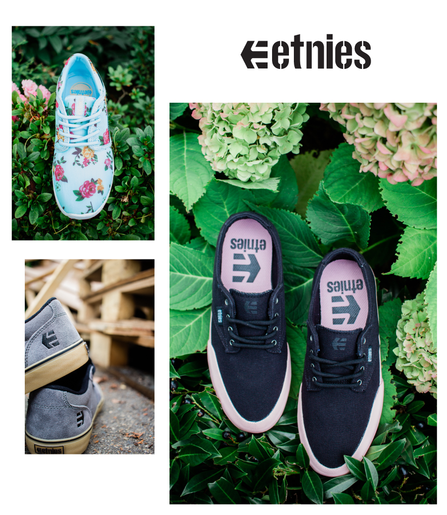 New arrivals: Men and women's ETNIES at 30-70% off everyday