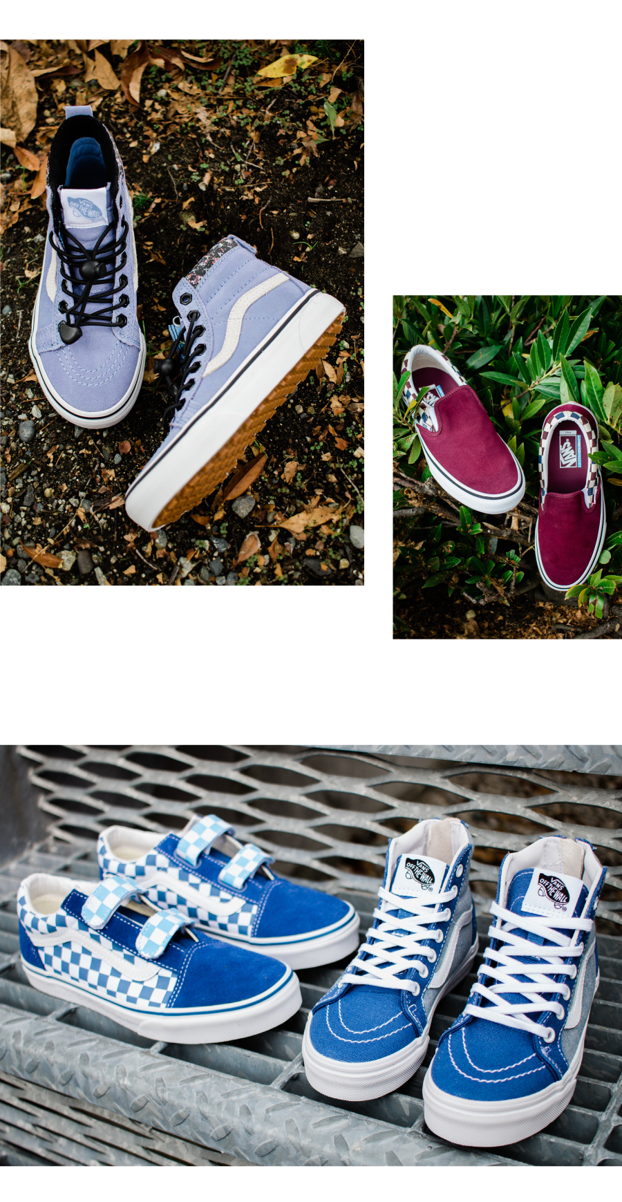 Youth Boy's Vans Shoes