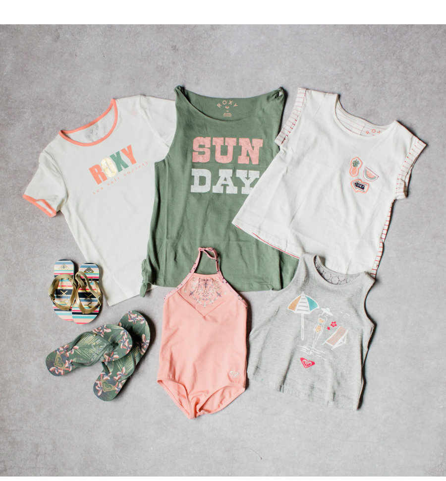 Roxy girls summer clothes