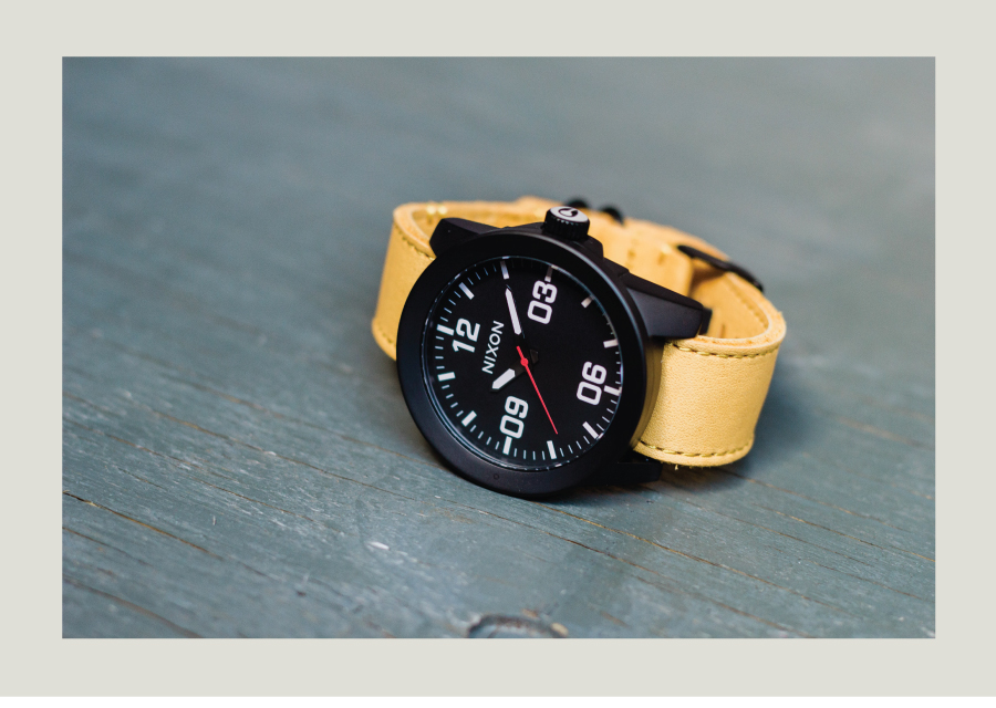 Nixon Leather watch