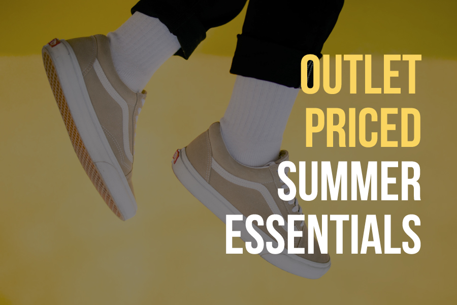 Outlet Priced Summer Essentials